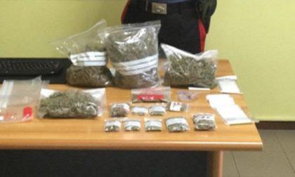 Fermato a Mozzate 41enne: a casa aveva 10 sacchetti di marijuana