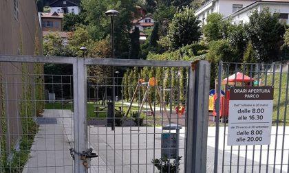 Parco giochi di Monte Olimpino chiuso da febbraio: bimbi senza ritrovo