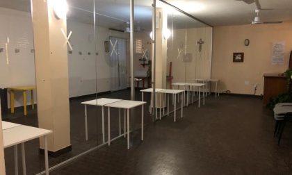 La Cappellina della Casa anziani di Olgiate si trasforma in sala per vedere i parenti