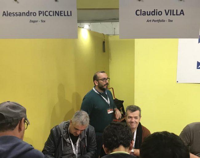 Fumetti Alessandro Piccinelli e Claudio Villa