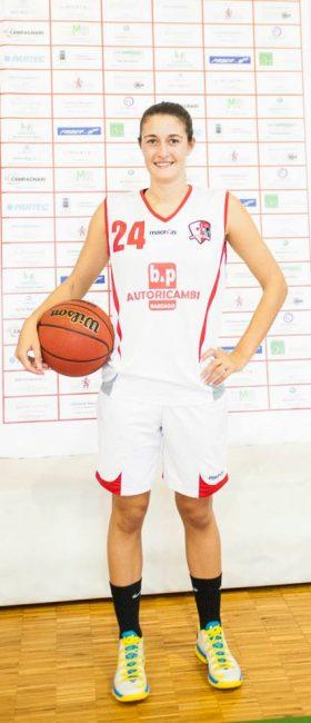 Basket femminile Francesca Pozzi