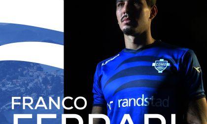 Como calcio Franco Ferrari vestirà l'azzurro nella stagione 2020/21