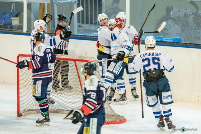 Hockey Como domani sfida Valdifiemme