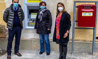 Poste Italiane inaugura il nuovo Postamat a Moltrasio