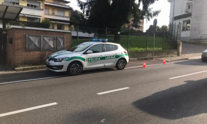 Doppio grave incidente a Cantù e Como FOTO