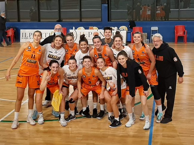 Basket femminile marta Meroni vince con Milano