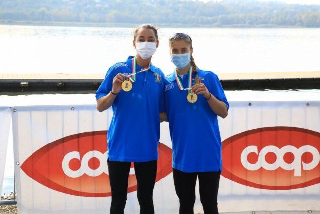 Canottieri Molttrasio il 2X U23 femminile tricolore