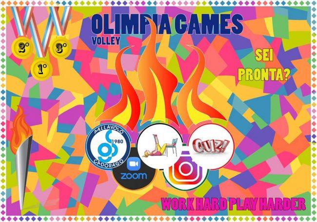 Pallavolo larian le Olimpia Games a cadorago