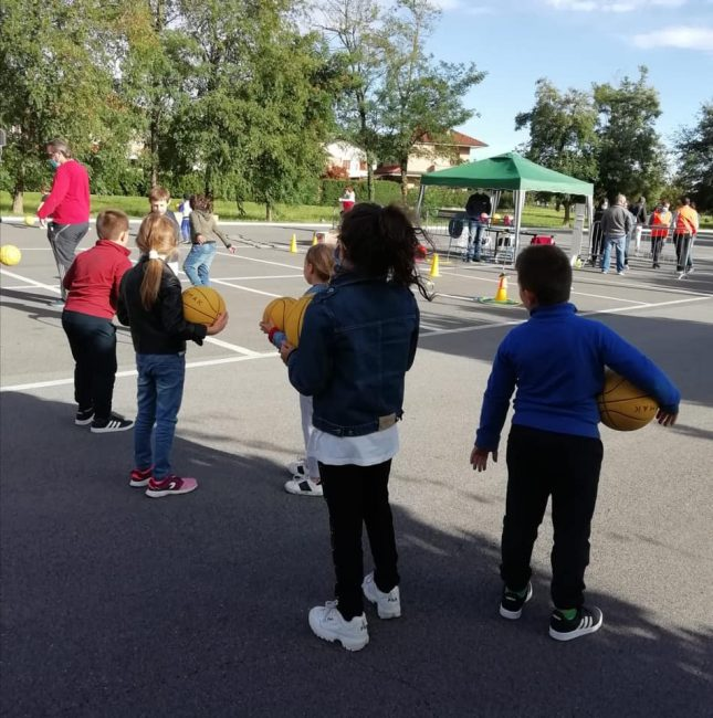 Basket giovanile Open day cabiate
