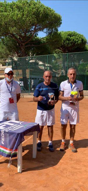 Tennis lariano Primo Veneri campione italiano over65