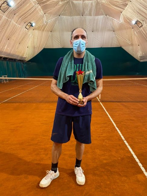 Tennis lariano Claudio Terruzzi vince a Mariano