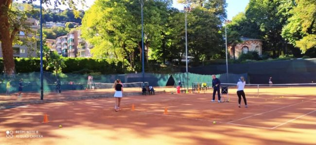 tennis como ripare la scuola