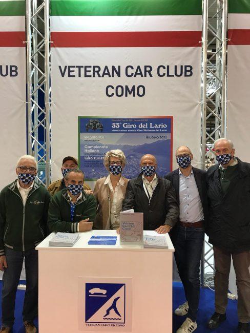Auto d'Epoca Vetran Como Club a Milano