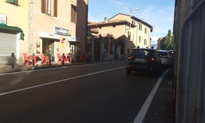 Ciclista investito a Pusiano soccorso un 47enne