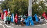 Presidio al Sant'Anna: i lavoratori dei multiservizi chiedono tutele FOTO