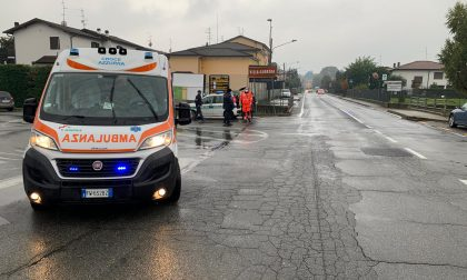 Incidente a Villa Guardia: scontro tra auto e scooter