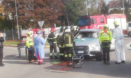 Incidente a Lurago Marinone: feriti due uomini FOTO