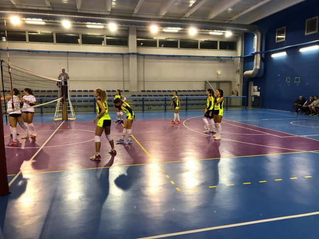 albese volley amichevole e Merone