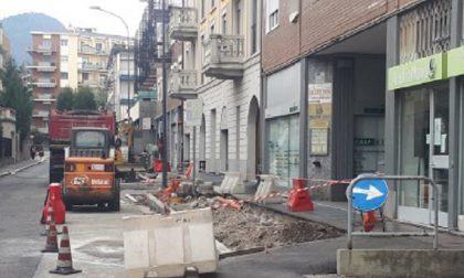 Ancora lavori in via Plinio a Erba: circolazione e sosta vietate fino al 30 ottobre