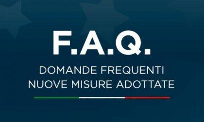 DPCM 3 novembre 2020 – Le risposte del Governo alle FAQ
