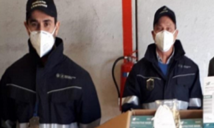 Distrutte 500 mascherine Ffp2 senza requisiti di sicurezza
