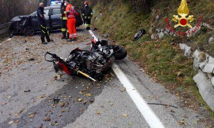 Tragedia a Sormano: morto un motociclista FOTO