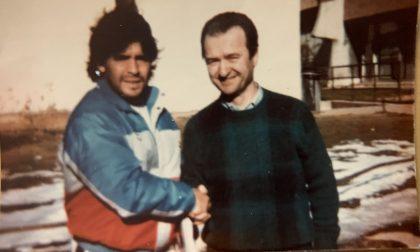 """Maradona, il ricordo dell'edicolante appianese: """"Gli portai i giornali alla Pinetina. Faceva cose impossibili"""""""