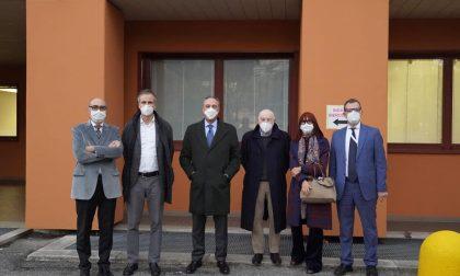 """L'assessore Gallera a Como: """"Una delle aree più colpite dalla pandemia"""" FOTO"""