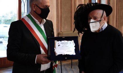 Compleanno speciale: il bersagliere Rino Colombo festeggia 100 anni