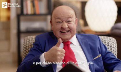 """Boldi """"redento"""" testimonial dei ristori regionali per la Lombardia"""