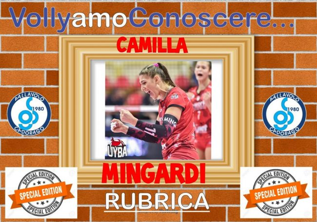 pallavolo femminile Camilla Mingardi