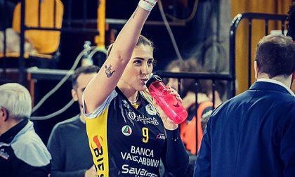 Pallavolo lariana stasera le giovani ragazze dell'Olimpia incontrano in rete Camilla Mingardi