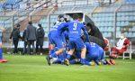 Como calcio notte magica per gli azzurri: domato il Renate e primato solitario