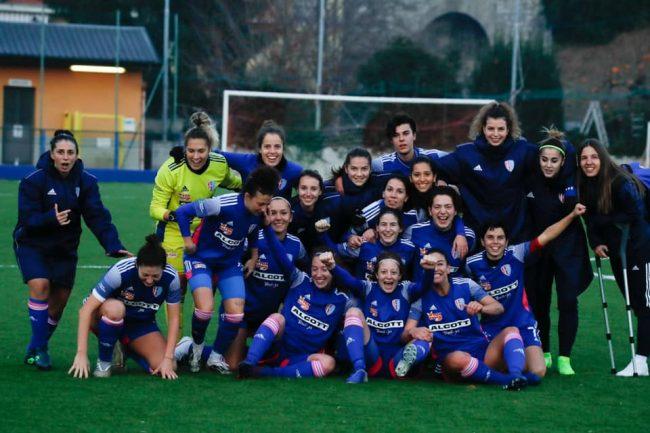 Calcio femminile Como women in vetta