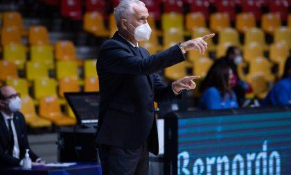 Pallacanestro Cantù commenti post-derby: coach Messina si complimenta con Pancotto