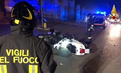 Incidente a Monte Olimpino: frontale tra due moto