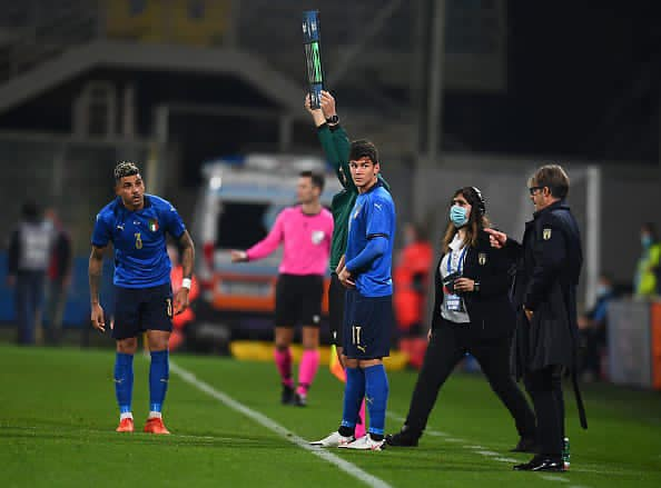 Calcio matteo Pessina esordio azzurro