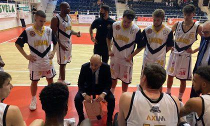 Basket lariano, per coach Salvatore Cabibbo esordio vincente con il Lugano