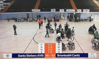 Basket in carrozzina, Briantea84 Cantù vince la finalissima di Coppa Italia