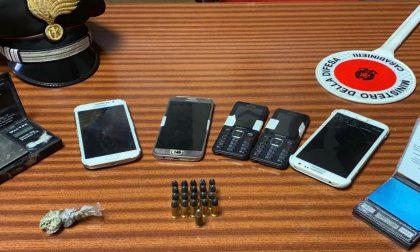Perquisizioni nell'Olgiatese: denunciati due comaschi, avevano droga e munizioni a casa