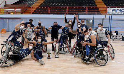 Basket in carrozzina, la Fip Lombardia celebra l'ultimo trionfo della UnipolSai