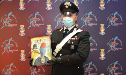 Calendario Carabinieri 2021: dodici mesi con il maresciallo Donato Alighieri e il Sommo Poeta