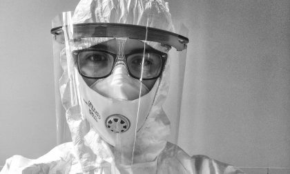 """""""Dentro quella tuta come un astronauta"""", Federico e i primi giorni da infermiere nel reparto Covid"""