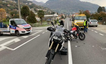 Scontro tra moto a Dongo: donna grave in ospedale