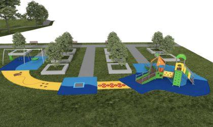 Al Segrino l'idea di un parco giochi inclusivo
