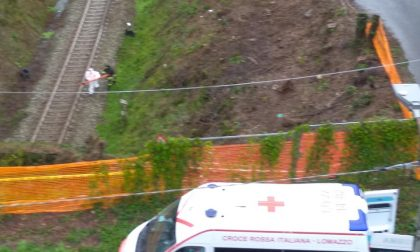 Senzatetto soccorso all'imbocco della galleria ferroviaria a Cantù FOTO