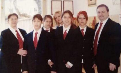 Una famiglia con la passione per la musica: genitori e cinque figli tutti nella banda di Appiano