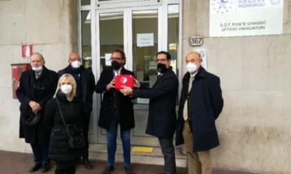 Donato defibrillatore all'Agenzia delle Dogane: sarà a disposizione di tutta la comunità