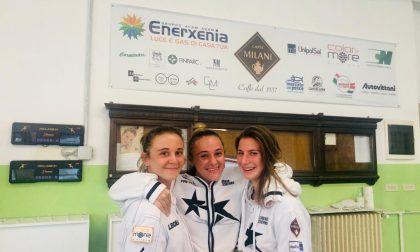 Comense Scherma il club nerostellato festeggia il suo 4° posto ai campionati italiani di fioretto