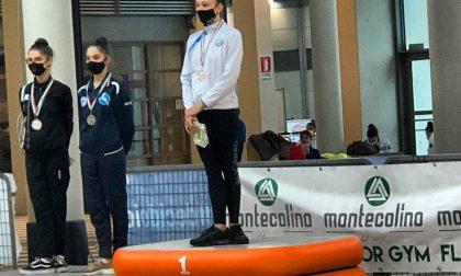 Ginnastica Lucrezia Colombo è campionessa d'Italia nel cerchio